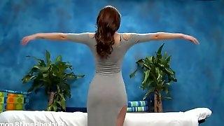 Long haired beauty Jayden Taylors fucks good after massage