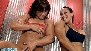 Denise Masino & Alicia Alfaro Clit Pumping